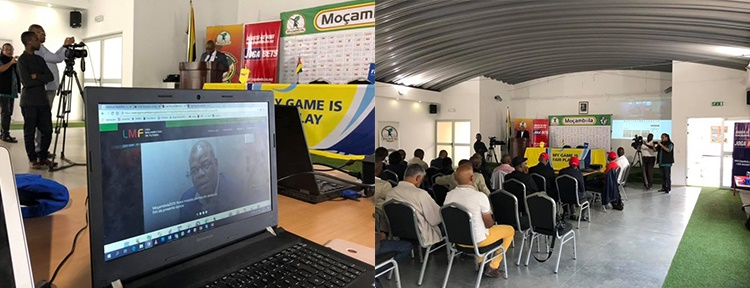 Lançamento do site da Liga Moçambicana de Futebol